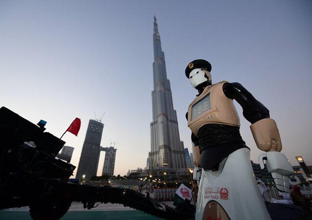 تزويد شرطة دبي بروبوتات