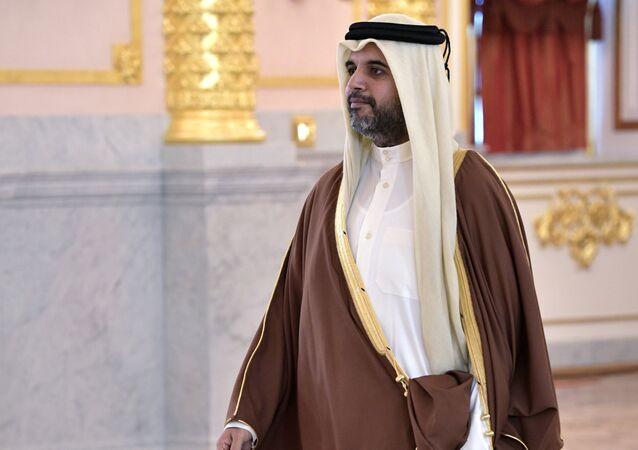 السفير القطري في موسكو فهد محمد العطية
