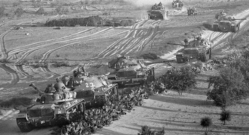 الجيش الإسرائيلي خلال حرب 67