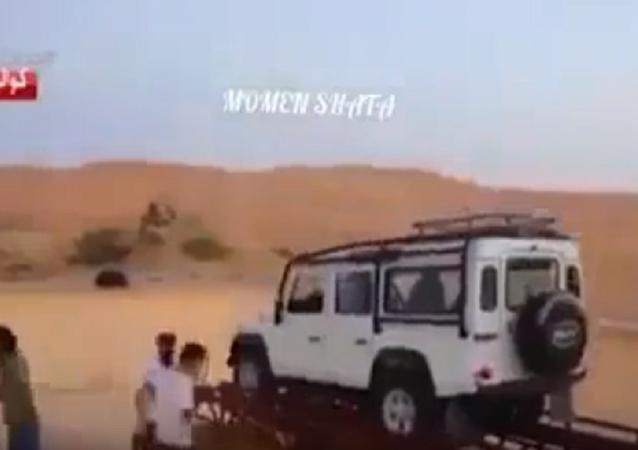 كيف تغرق السيارة في برنامج رامز تحت الأرض
