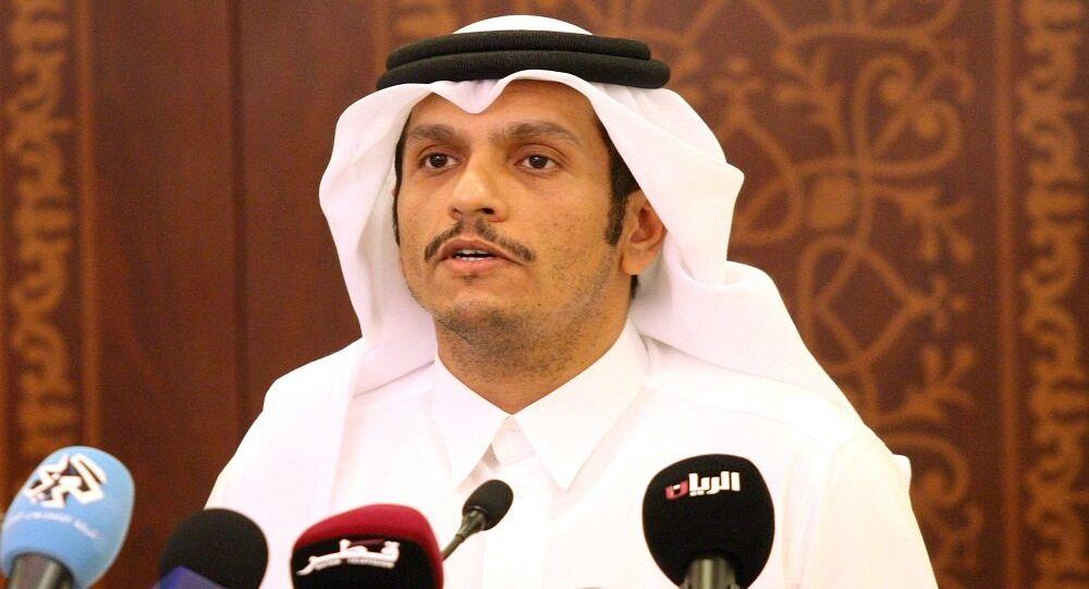 وزير خارجية قطر