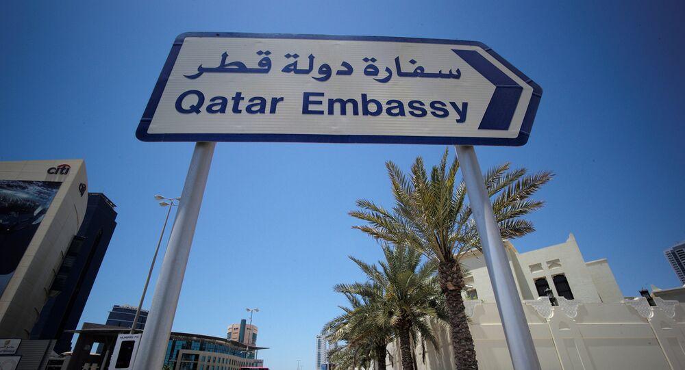عودة السفير القطري إلى مصر مندوبا في الجامعة العربية - Sputnik Arabic