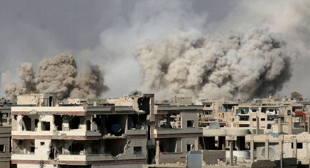 غارات على سوريا