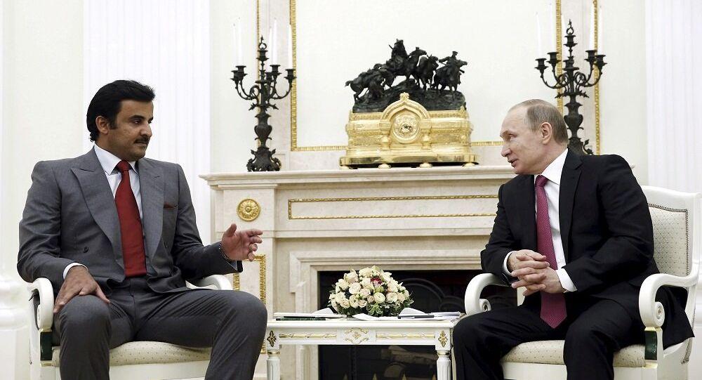 بوتين وتميم