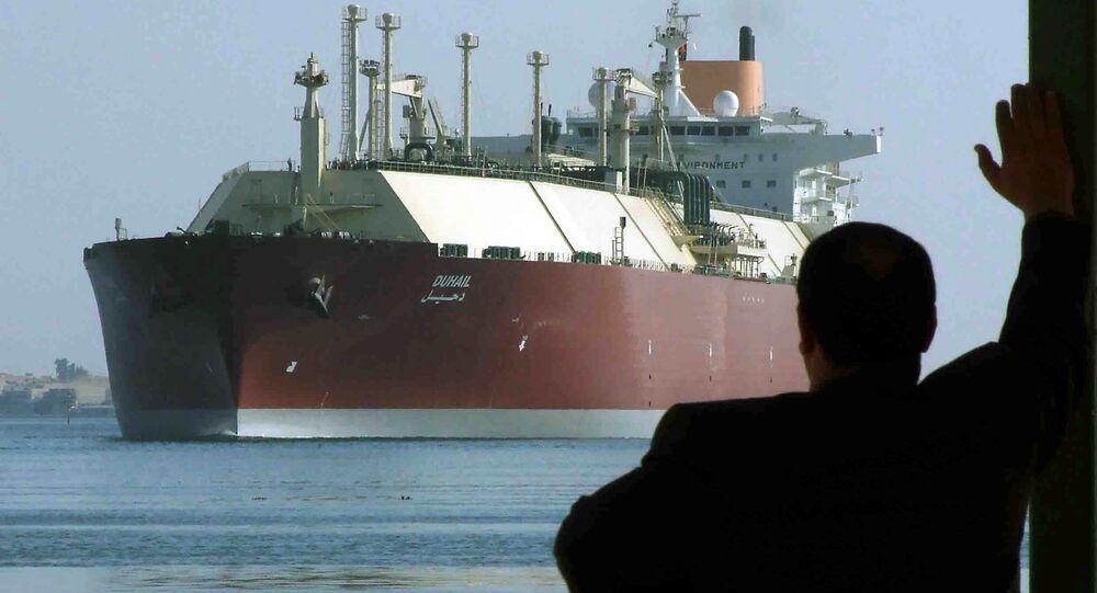 سفينة غاز قطرية