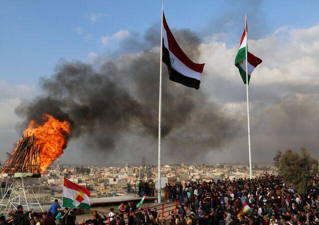 احتفال في كردستان