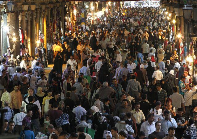 صورة أرشيفية لسوق الحميدية في دمشق، سوريا 20 أكتوبر/ تشرين الأول 2010