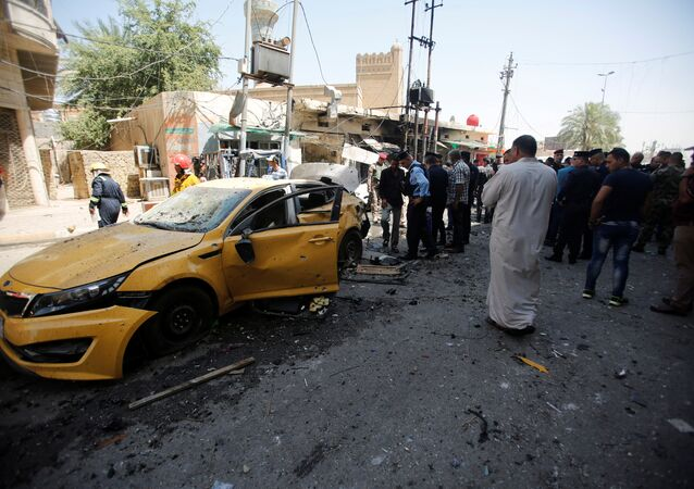 تفجير في بغداد (أرشيفية)