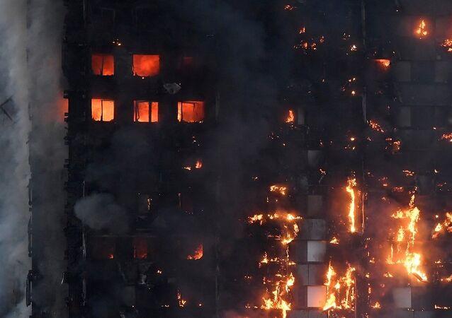 حريق لندن