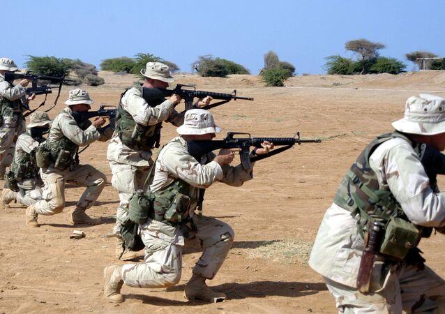 القاعدة العسكرية في جيبوتي