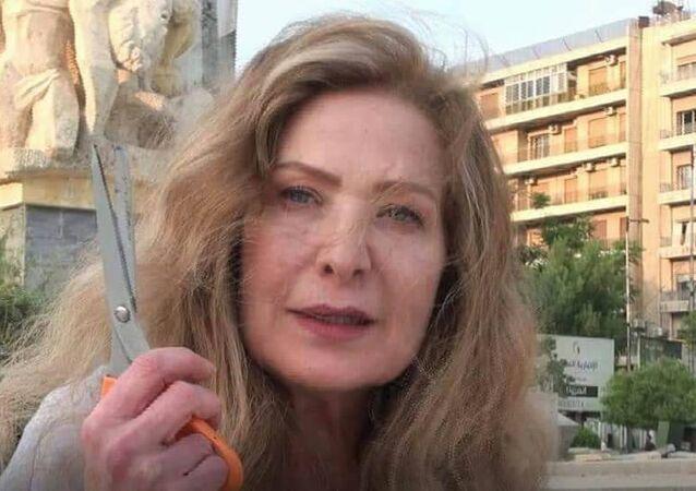 الفنانة رغدة في حلب