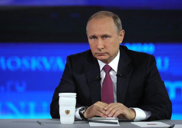 الرئيس الروسي فلاديمير بوتين يجيب على أسئلة المواطنين، البث المباشر، 15 يونيو/ حزيران 2017