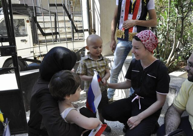 صندوق روسي يتبرع بأدوية لأطفال مرضى السرطان في سوريا