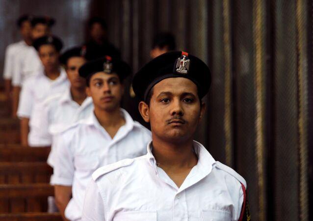 جنود شرطة مصريين