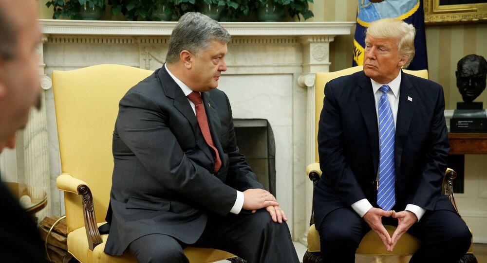 دونالد ترامب وبيتر بوروشينكو