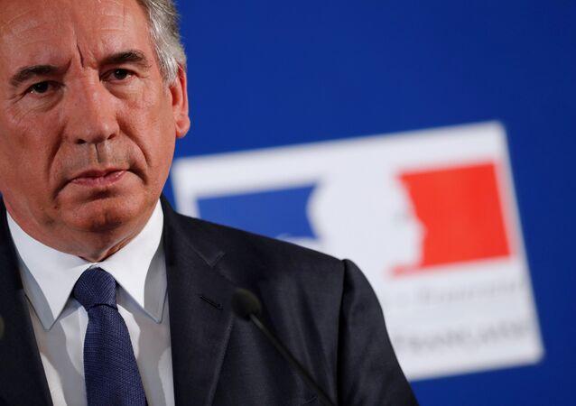 وزير العدل الفرنسي، فرانسوا بايرو