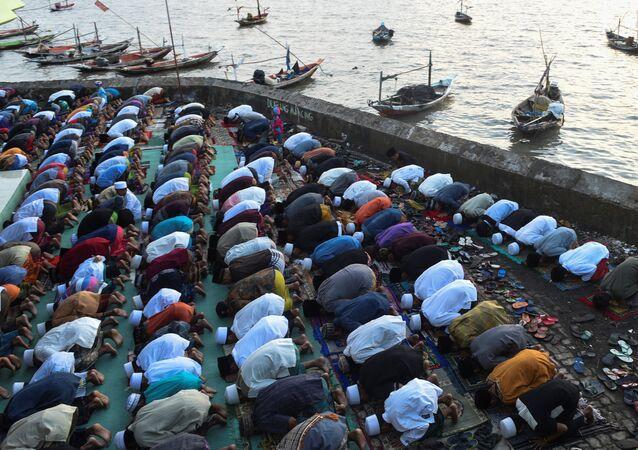 صلاة العيد في إندونيسيا