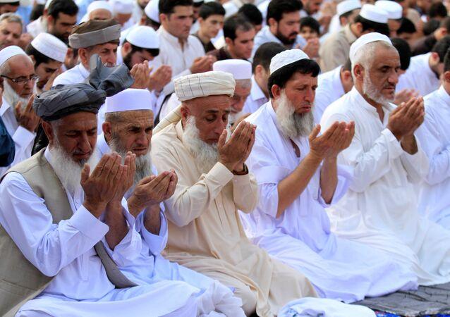 صلاة العيد في باكستان