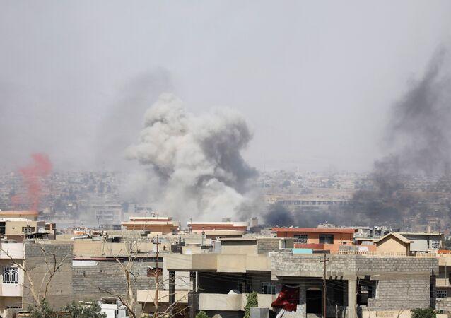 هجمات لداعش خارج الموصل القديمة