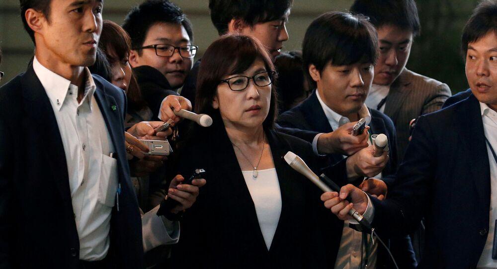 وزيرة دفاع اليابان  تومومي إينادا