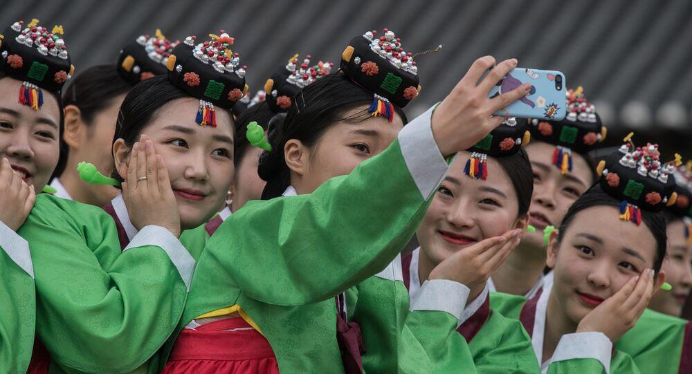 فتيات كوريا الجنوبية