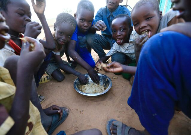 أطفال من دارفور
