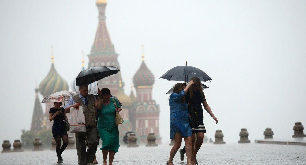 أمطار موسكو