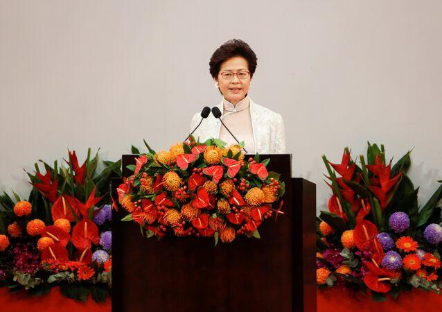 كاري لام رئيسة هونغ كونغ