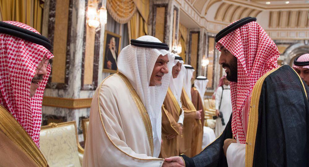 محمد بن سلمان يتلقى البيعة من الأمراء وليا للعهد