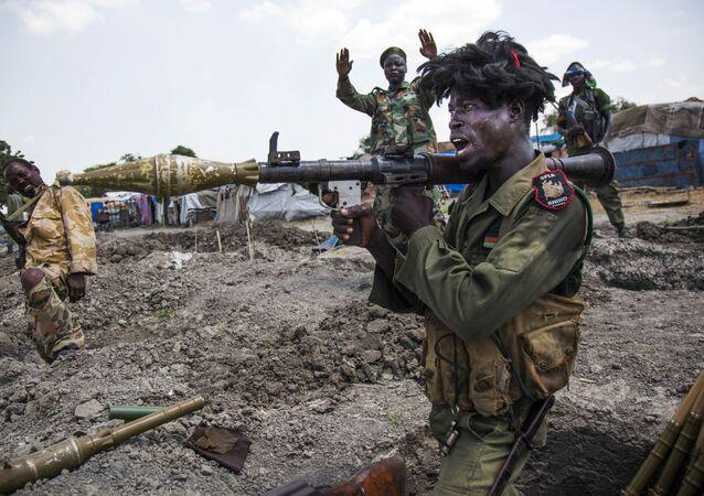 جنود الجيش السوداني الحر