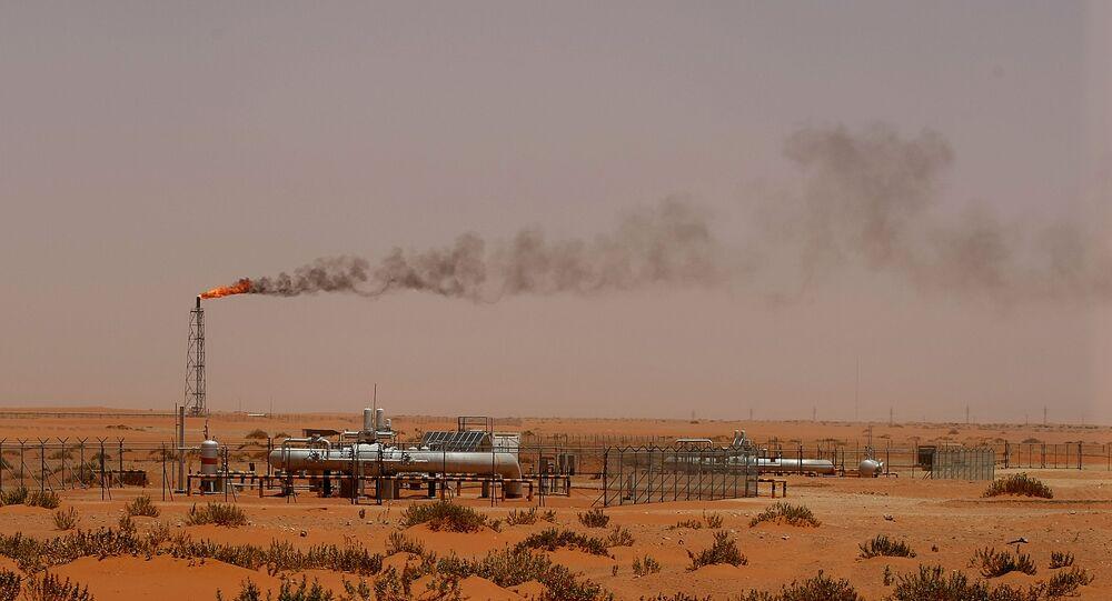 منشأة نفطية في المملكة العربية السعودية