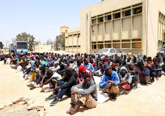 المهاجرين من أفريقيا