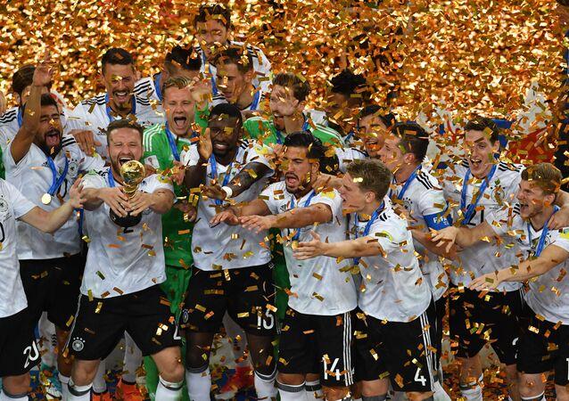 المنتخب الألماني الفائز بكأس القارات