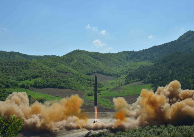 إطلاق صاروخ باليستي جديد في كوريا الشمالية  يوليو/ تموز 2017