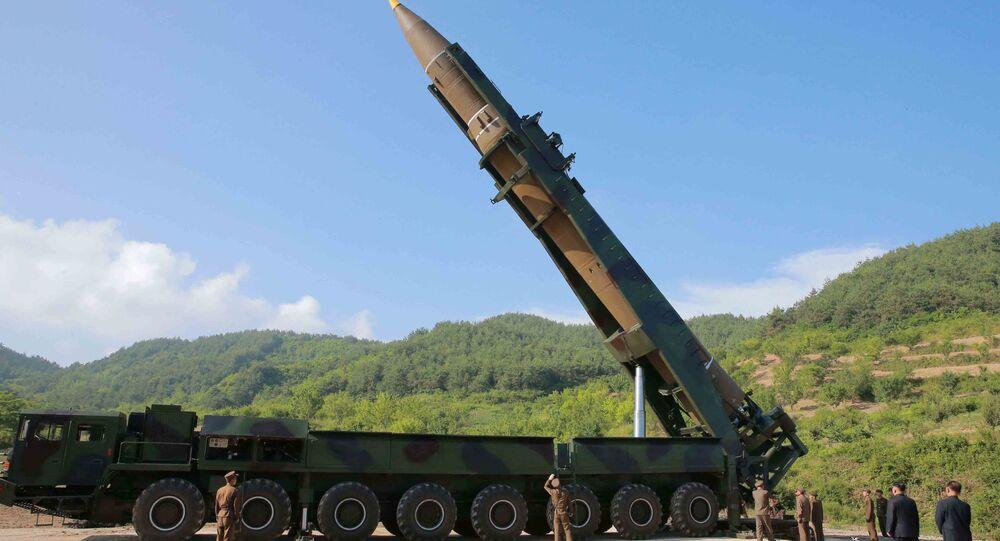 إطلاق صاروخ باليستي جديد، كوريا الشمالية  يوليو/ تموز 2017