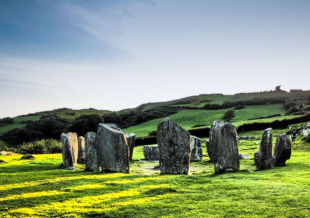 Ancient stone circles, Ireland
