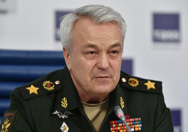 سكرتير الدولة ونائب وزير الدفاع الروسي بانكوف نيكولاي