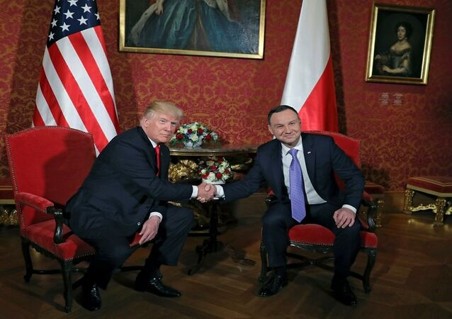 ترامب والرئيس البولندي