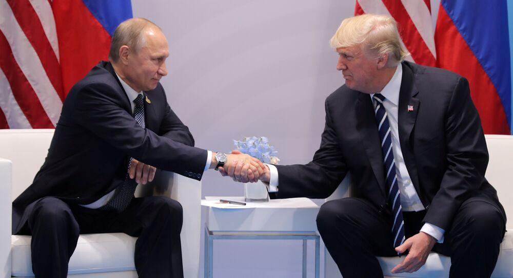 لقاء بين بوتين وترامب في هامبورغ