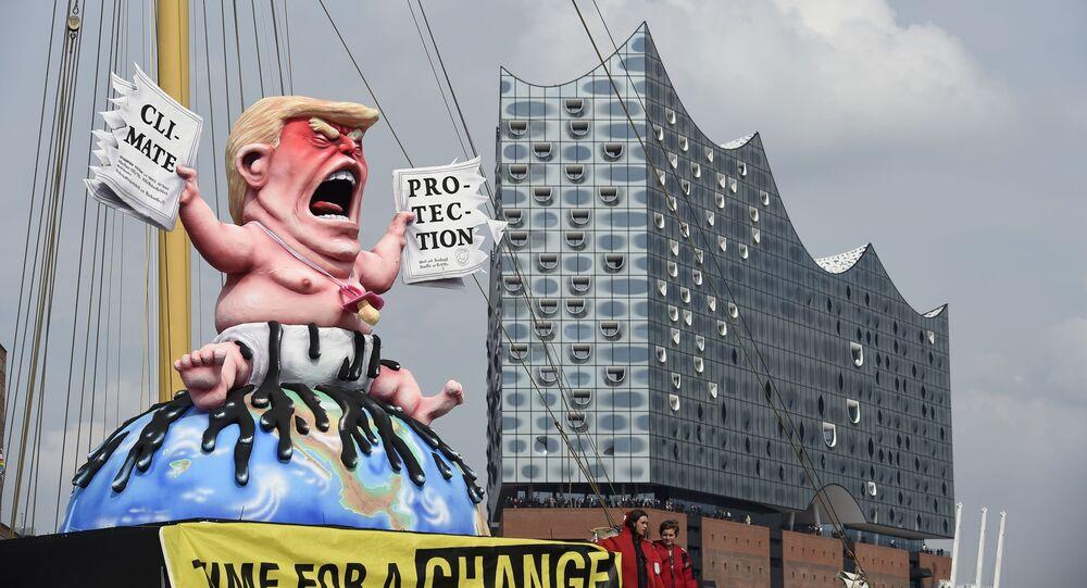 مظاهر احتجاج على قمة العشرين