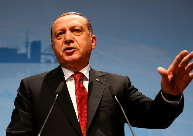 أردوغان في هامبورغ