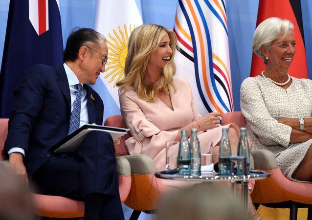 إيفانكا ترامب في قمة العشرين