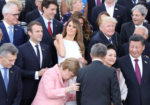 الزعماء في قمة العشرين