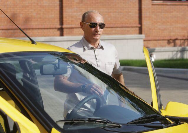 سيارات بوتين