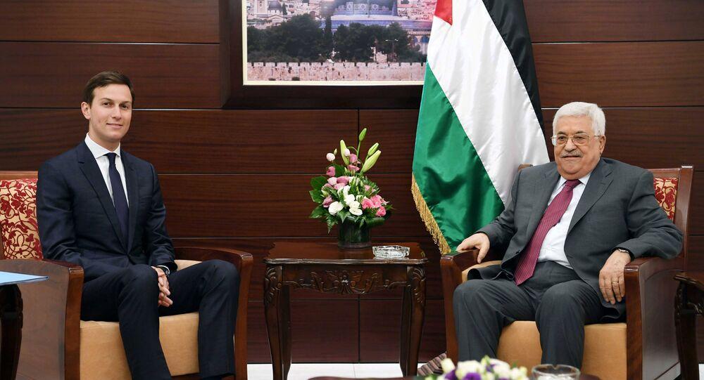 كوشنر يلتقي عباس في رام الله