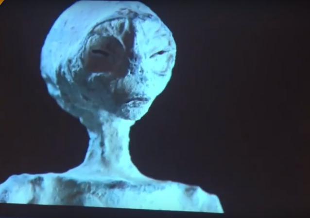 بيرو...العثور على مومياء لكائن فضائي بهيكل إنسان