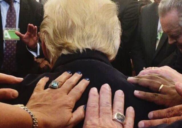حقيقة صورة ترامب التي أشعلت تويتر