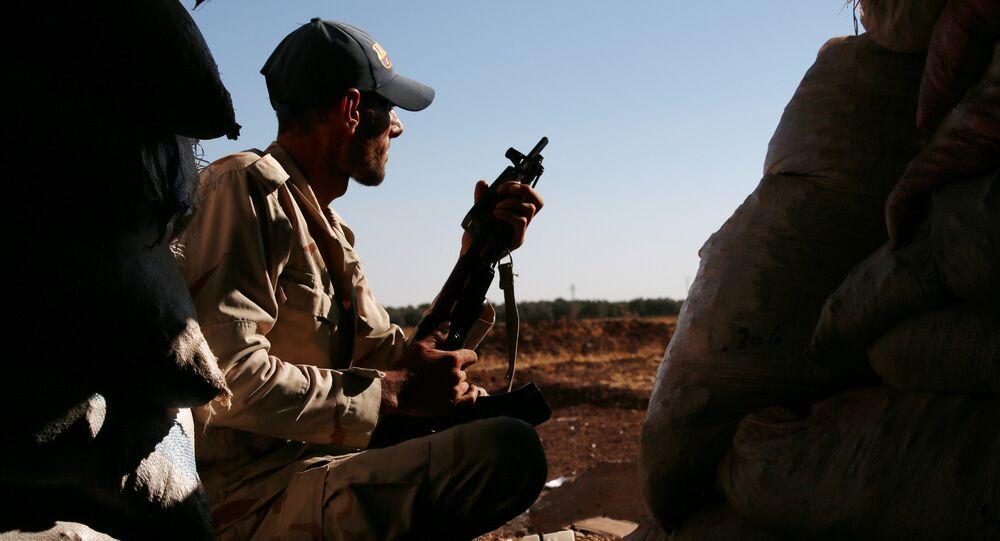 أحد أفراد ما يسمى بالجيس السوري الحر