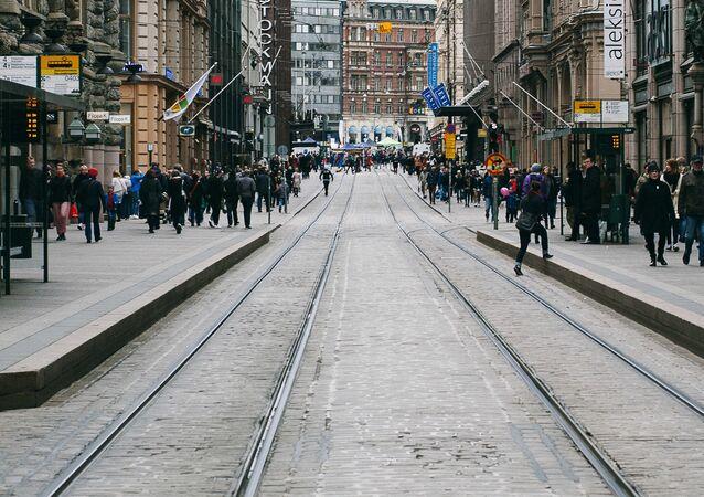 العاصمة الفنلندية