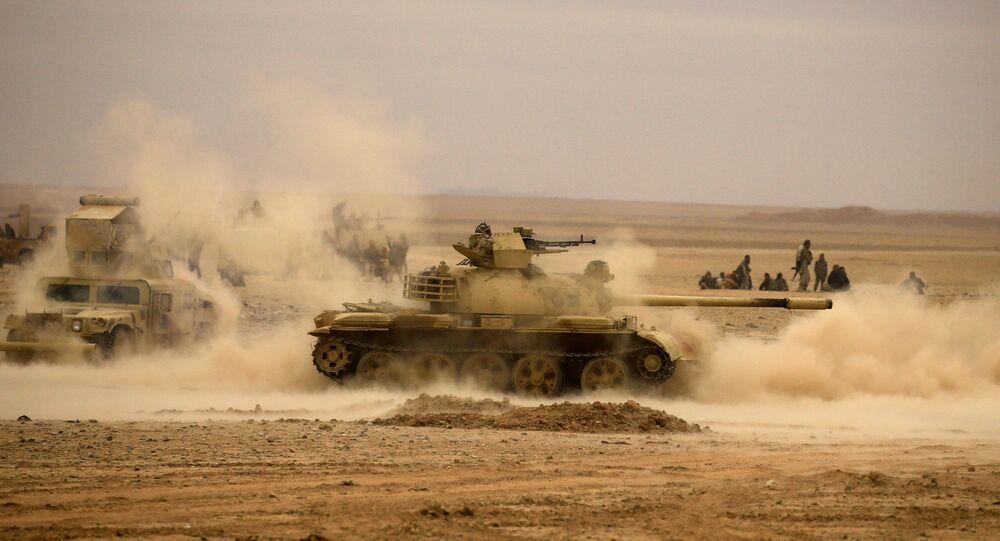 الجيش العراقي بالقرب من تلعفر